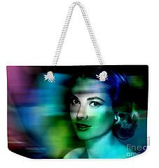 Grace Kelly Weekender Tote Bag by Marvin Blaine