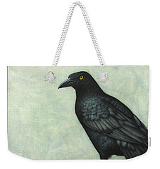 Grackle Weekender Tote Bag by James W Johnson