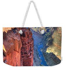 Grand Canyon Awe Inspiring Weekender Tote Bag by Bob Christopher