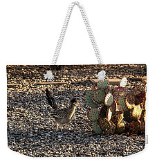 Greater Roadrunner Weekender Tote Bag by Robert Bales