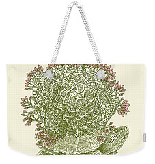 Grow Weekender Tote Bag by Eric Fan