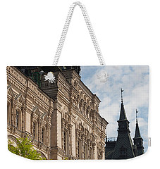 Gum Shopping Mall, Red Square, Moscow Weekender Tote Bag by Panoramic Images