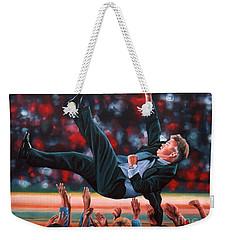 Guus Hiddink Weekender Tote Bag by Paul Meijering
