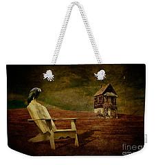 Hard Times Weekender Tote Bag by Lois Bryan