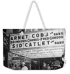 Harlem's Apollo Theater Weekender Tote Bag by Underwood Archives Gottlieb