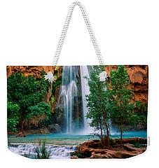 Havasu Cascades Weekender Tote Bag by Inge Johnsson