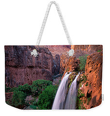 Havasu Falls Weekender Tote Bag by Inge Johnsson