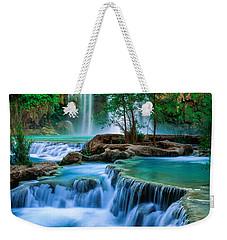 Havasu Paradise Weekender Tote Bag by Inge Johnsson
