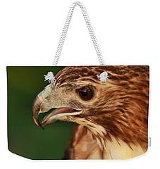 Hawk Eyes Weekender Tote Bag by Dan Sproul