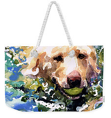 Head Above Water Weekender Tote Bag by Molly Poole
