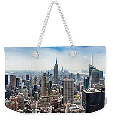 Heart Of An Empire Weekender Tote Bag by Az Jackson