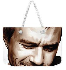 Heath Ledger Artwork Weekender Tote Bag by Sheraz A