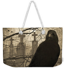 Her Graveyard Weekender Tote Bag by Gothicolors Donna