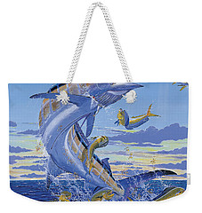Her Majesty Off0028 Weekender Tote Bag by Carey Chen