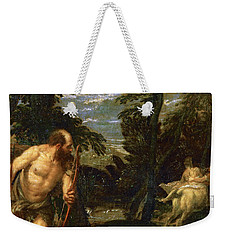 Hercules Deianira And The Centaur Nessus Weekender Tote Bag by Paolo Veronese