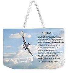 High Flight Weekender Tote Bag by Pat Speirs