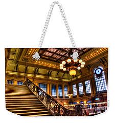 Hoboken Terminal Weekender Tote Bag by Anthony Sacco