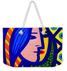 Homage To Pablo Picasso Weekender Tote Bag by John  Nolan