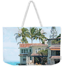 House At Land's End Weekender Tote Bag by Dona  Dugay