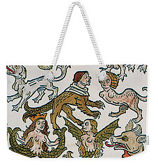Human Monsters 1493 Weekender Tote Bag by Photo Researchers