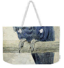 Hyacinthine Macaw Weekender Tote Bag by Henry Stacey Marks