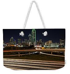 I-35e Dallas Weekender Tote Bag by Rick Berk