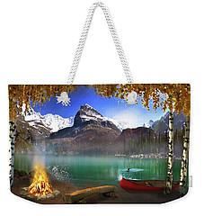 I Stillness I Heal Weekender Tote Bag by David M ( Maclean )