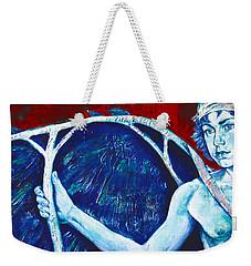 Icarus Weekender Tote Bag by Derrick Higgins