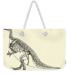 Iguanodon Weekender Tote Bag by English School