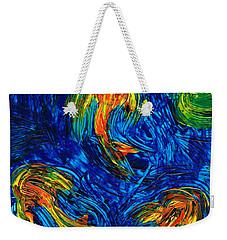 Impressionist Koi Fish By Sharon Cummings Weekender Tote Bag by Sharon Cummings