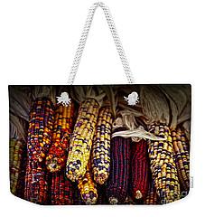 Indian Corn Weekender Tote Bag by Elena Elisseeva