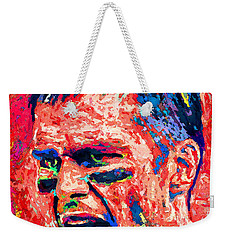 Intense By Tom Brady Weekender Tote Bag by John Farr