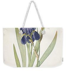 Iris Germanica Bearded Iris Weekender Tote Bag by Pierre Joseph Redoute