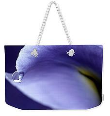 Iris Rain Weekender Tote Bag by Krissy Katsimbras