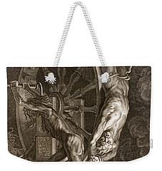 Ixion In Tartarus On The Wheel, 1731 Weekender Tote Bag by Bernard Picart