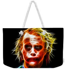 J Oker Portrait Weekender Tote Bag by Daniel Janda