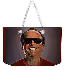 Jack Nicholson 2 Weekender Tote Bag by Paul Meijering