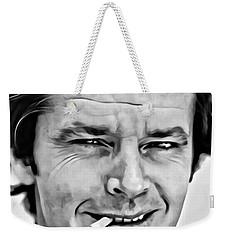 Jack Nicholson Weekender Tote Bag by Florian Rodarte