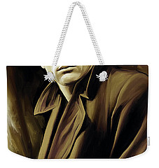James Dean Artwork Weekender Tote Bag by Sheraz A