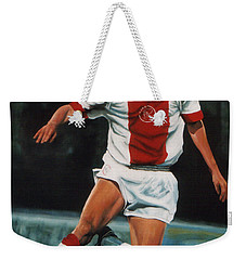 Jari Litmanen Weekender Tote Bag by Paul Meijering