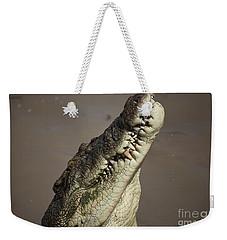 Jaws V4 Weekender Tote Bag by Douglas Barnard