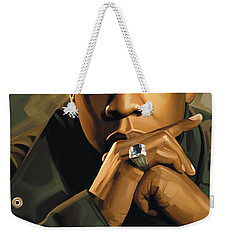 Jay-z Artwork 2 Weekender Tote Bag by Sheraz A