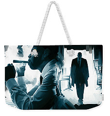 Jay-z Artwork 3 Weekender Tote Bag by Sheraz A