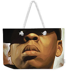 Jay-z Artwork Weekender Tote Bag by Sheraz A