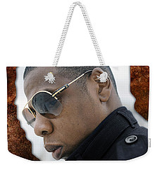 Jay Z Weekender Tote Bag by Marvin Blaine