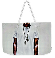 Jay-z Portrait Weekender Tote Bag by Florian Rodarte