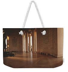 Jefferson Memorial Washington Dc Usa Weekender Tote Bag by Panoramic Images