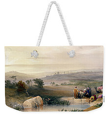 Jerusalem, April 1839 Weekender Tote Bag by David Roberts