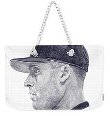 Jeter Weekender Tote Bag by Tamir Barkan
