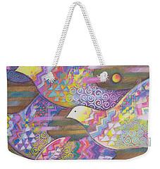Jetstream Weekender Tote Bag by Sarah Porter